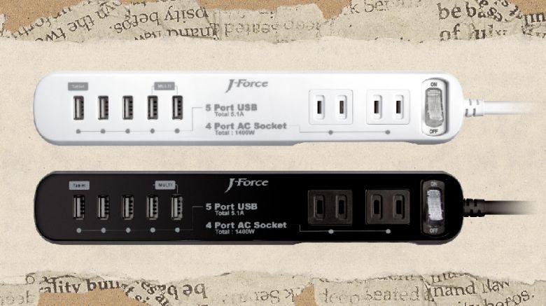 USB給電機能付き電源タップ「世界平和シリーズ」3製品を新発売