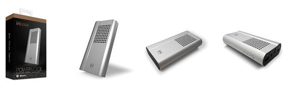 モバイルバッテリー機能付きワイヤレススピーカー「POWERVOICE」新発売