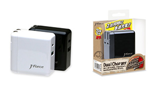 超高速USBチャージャー「世界超速」Dual Charger